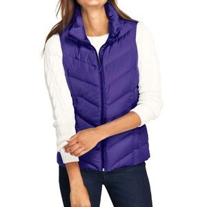 Lands' End Women's Down Puffer Vest